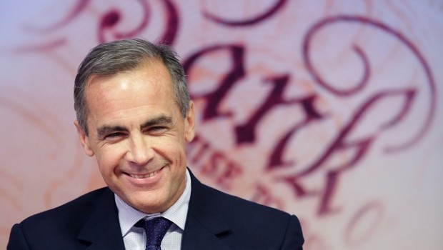 bank boe england carney mark