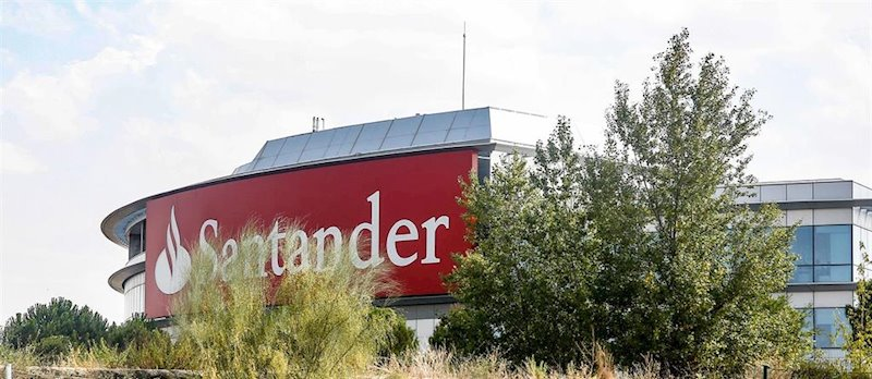 Santander y dos valores más que han perforado soportes o resistencias este martes