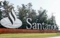 ep cartel del banco santander en la ciudad grupo santander comunidad de madrid