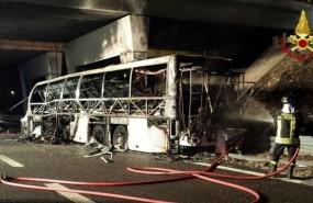 accidente autobus verona