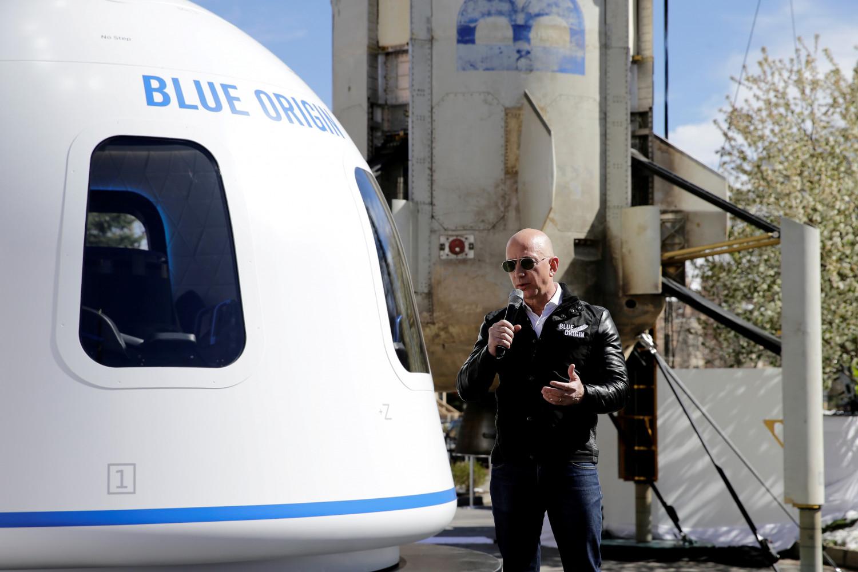 jeff bezos va participer au premier vol spatial du projet blue origin