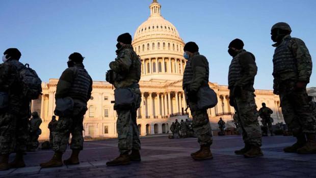 guardia nacional soldados estados unidos capitolio
