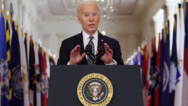 ep el presidente de estados unidos joe biden en su primer discurso a la nacion