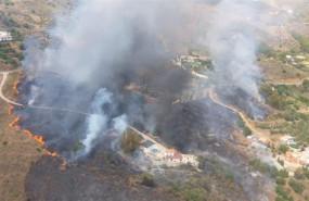 ep malaga- sucesos- declaradoincendio forestalparaje valtocadomijas