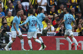 ep england fa cup final - manchester city vs watford