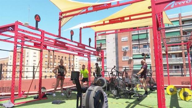 ep gimnasio en valncia abre sus puerta en fase 1 tras habilitar una terraza en sus instalaciones