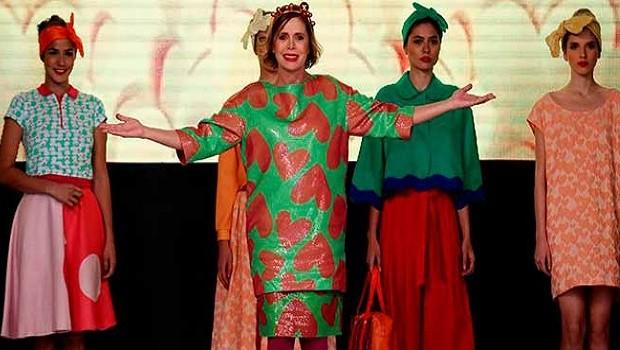94d0031f04 Diseñadora Agatha Ruiz de la Prada conquista la feria del cuero en ...