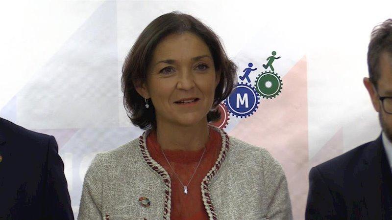 ep reyes maroto ministra de industria comercio y consumo