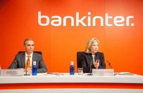 ep la consejera delegada de bankinter maria dolores dancausa y el director financiero del banco