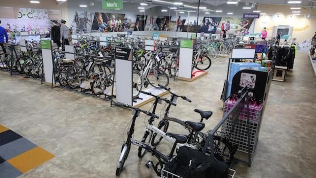 halfords bikes shop cycling retail