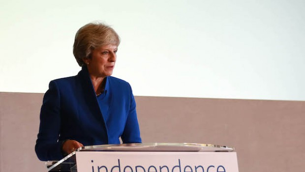 theresa may bankindependence