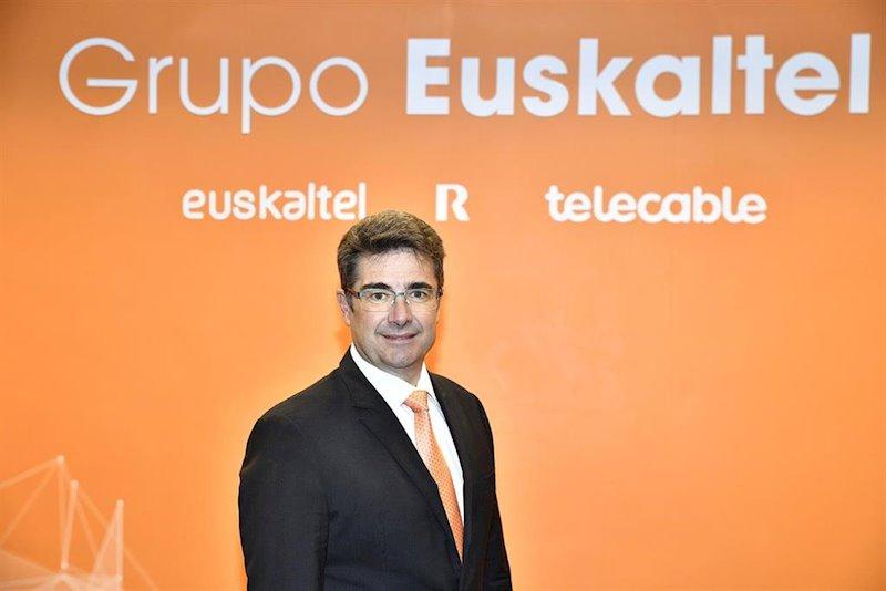 Euskaltel gana 62 millones de euros en 2019, un 1% menos que en 2018