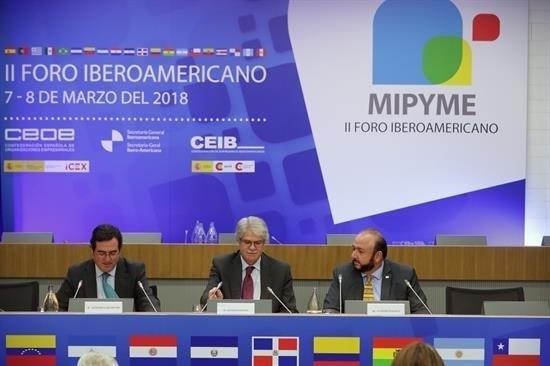 ep ministro dastisii foro iberoamericanola mpyme