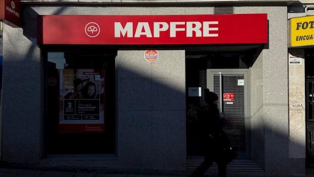 ep local de mapfre visto desde el exterior en madrid a 9 de enero de 2020