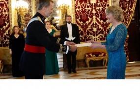 ep rey recibecartas credencialesla embajadorairlanda