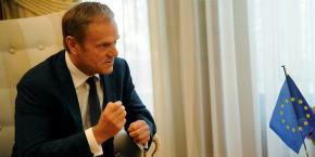 le-president-du-conseil-europeen-donald-tusk-a-appele-les-pays-membres-du-g7-a-renforcer-les-sanctions-envers-la-russie-dans-le-dossier-ukrainien