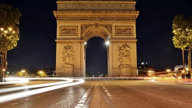 arc de triomphe champs elysees paris france europe