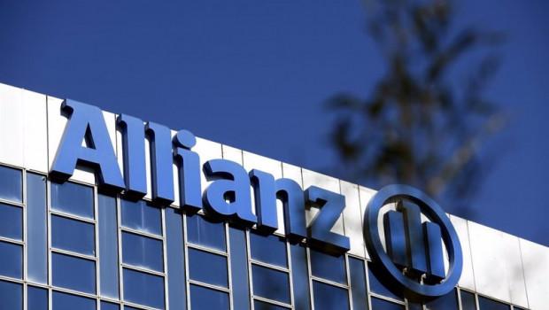 ep archivo   letras de la empresa de seguros allianz en su sede en madrid a 21 de febrero de 2020