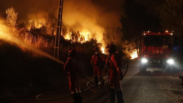 ep efectivosla ume actuanlos incendiosportugal