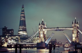London the City Tower bridge City Hall