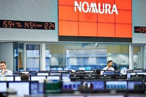 ep logo de la firma de inversiones japonesa nomura