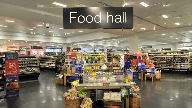 marks and spencer bluewater food hall retail grocery