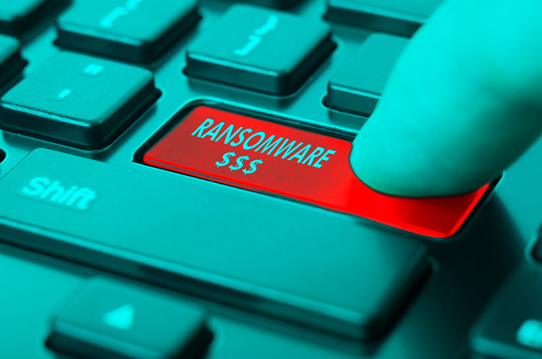 cybersecurite-ransomware-illustration-clavier-ordinateur-piratage-hacker