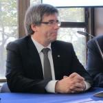 el presidenrte catalan carles puigdemont