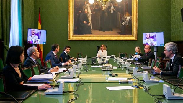 mesa congreso