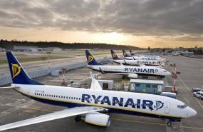 Ryanair, aircraft, transport, travel