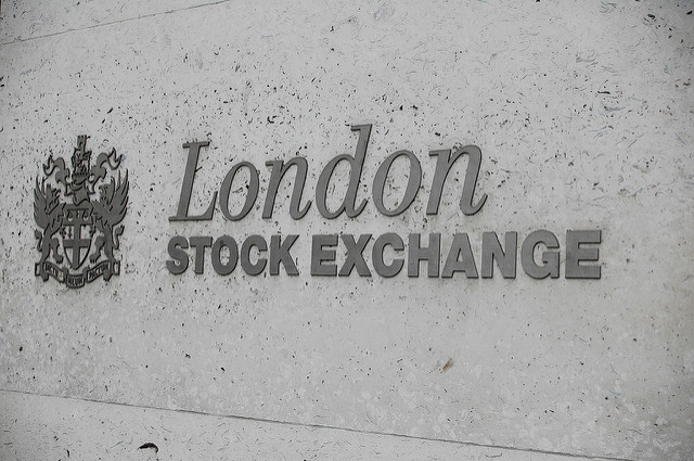 London midday: Stocks wallow as pound flattened by EC growth