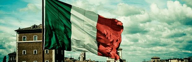 italia portada bandera
