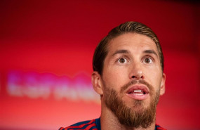 ep 09 june 2019 spain madrid spains sergio ramos speaks duringpress conference for spanish national soccer team ahead of sundays uefa euro 2020 qualification soccer match against sweden photo joel marklundbildbyran via zuma pressdpa