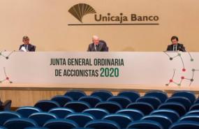 ep imagen de la junta general de accionistas de unicaja banco celebrada el 29 de abril de forma