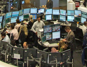 trading floor, trader, stocks, markets