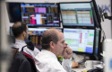 ep 12 march 2020 hessen frankfurt main stock traders look at monitors in the trading room of the