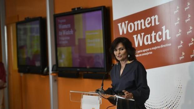ep carmen calvo participala clausuraprograma women to watchpwc