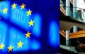 union europea portada bandera edificio