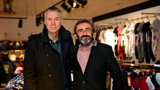 Supergroup, CEO Euan Sutherland and founder Julian Dunkerton, fashion retail
