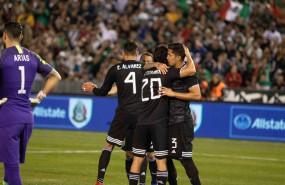 ep soccer friendly - mexico vs chile