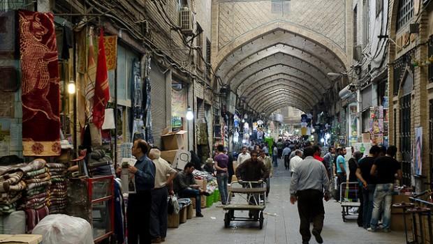 Iran Tehran Market Bazaar