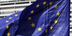 europe-drapeau-commission-europeenne-bruxelles-flag-france-candidate-pour-le-demenagement-d-agences-europeennes-de-londres