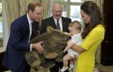 George, Guillermo, Kate Middleton, Cambridge