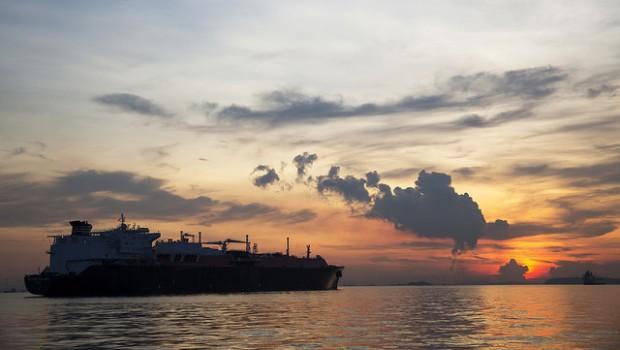 BG Group LNG tanker