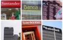 ep archivo - montaje de los logos de los seis bancos cotizados en espana