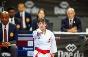 ep la karateca espanola sandra sanchez