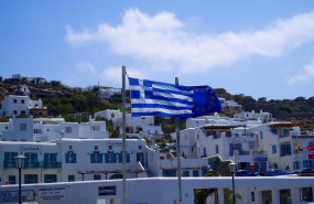 grecia, bandera, greece, greek flag
