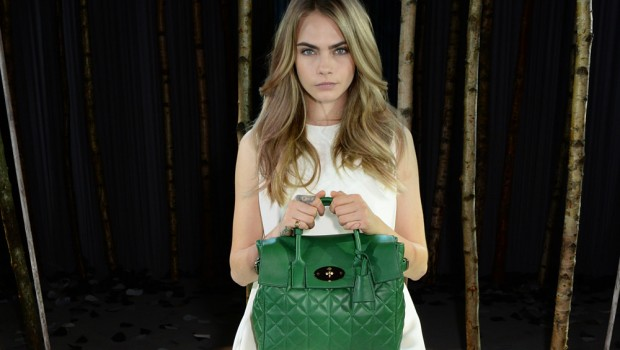 Mulberry, Cara Delevingne, handbags, fashion. Photo: Dave Benett
