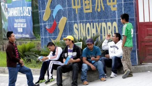 Sinohydro china construccion