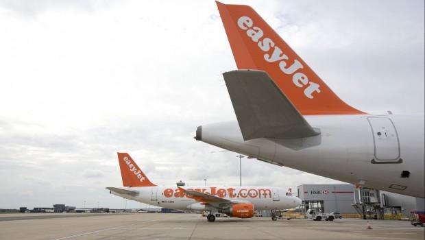 Easyjet, aircraft, Gatwick Airport, transport, travel